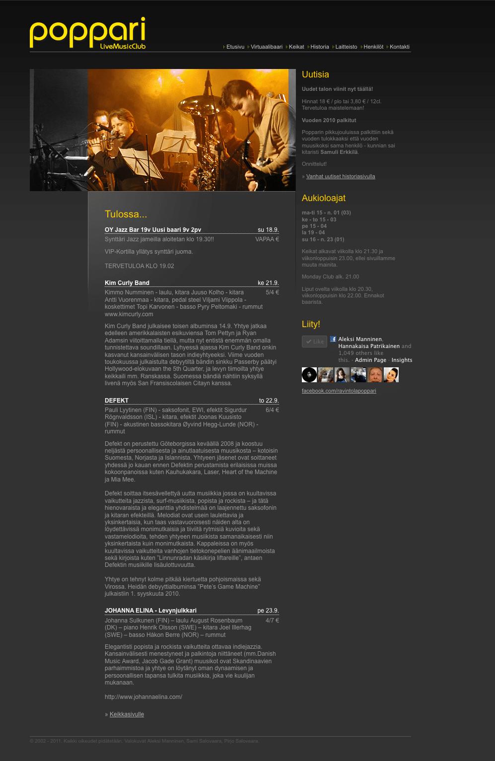 Poppari Live Music Club