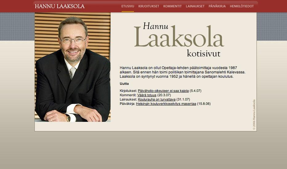 Hannu Laaksola