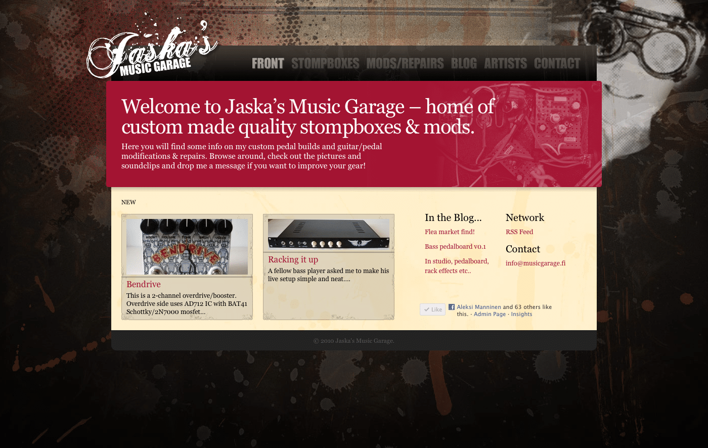 Jaska's Music Garage
