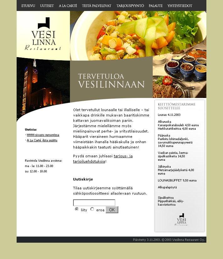 Ravintola Vesilinna