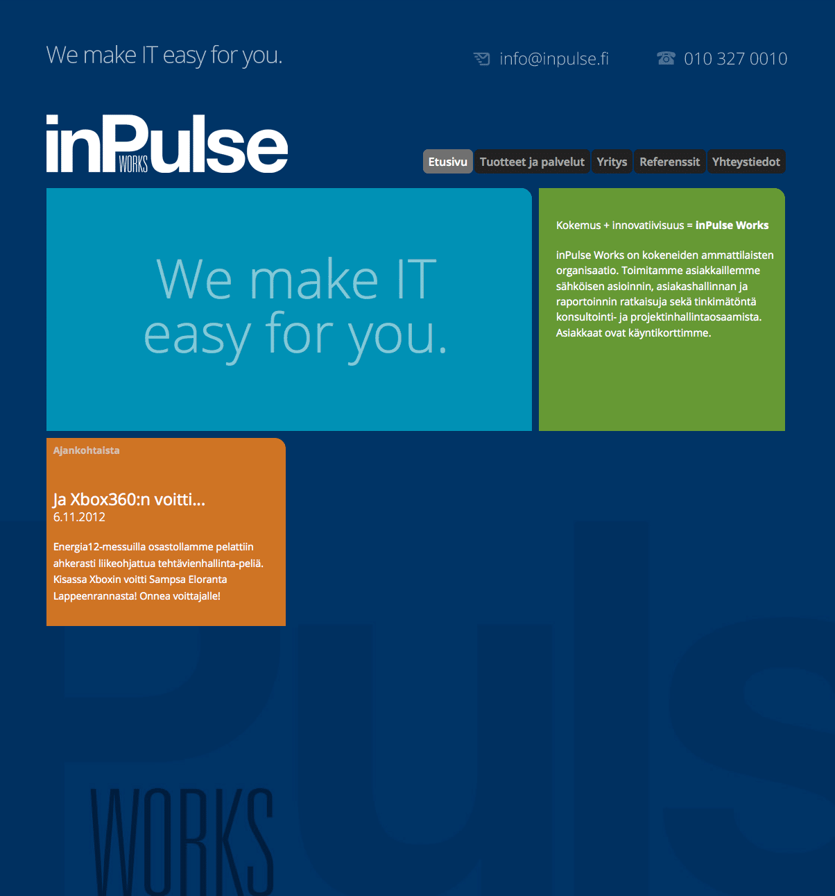 inPulse Works WWW 2012