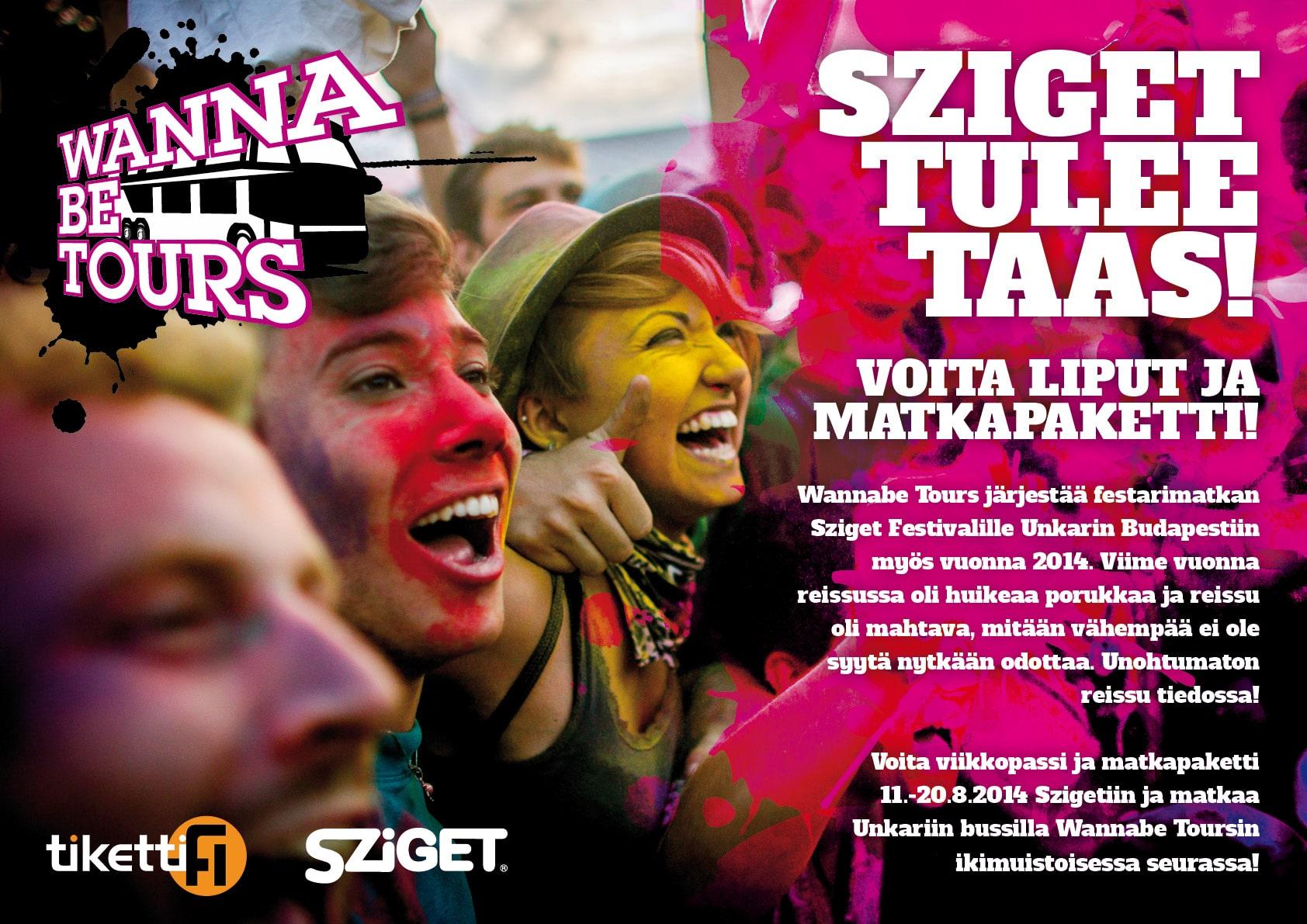 Wannabe Tours / Sziget